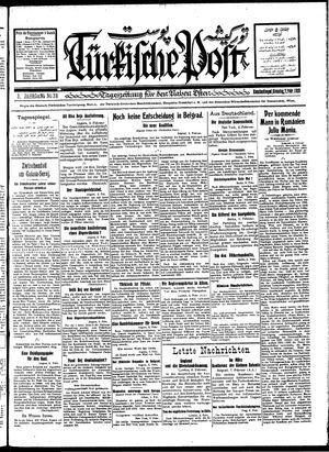 Türkische Post vom 07.02.1928