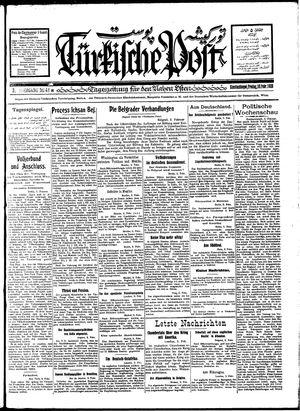 Türkische Post vom 10.02.1928