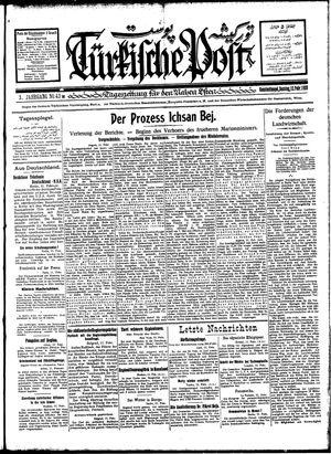 Türkische Post vom 12.02.1928