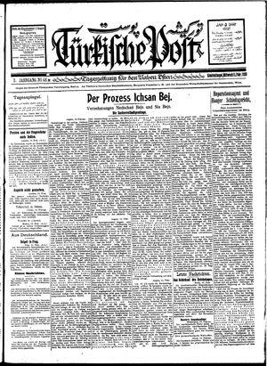 Türkische Post vom 15.02.1928