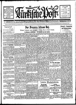 Türkische Post vom 16.02.1928