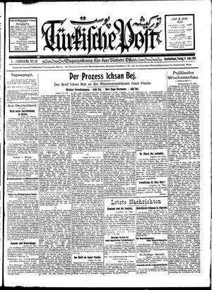 Türkische Post vom 17.02.1928