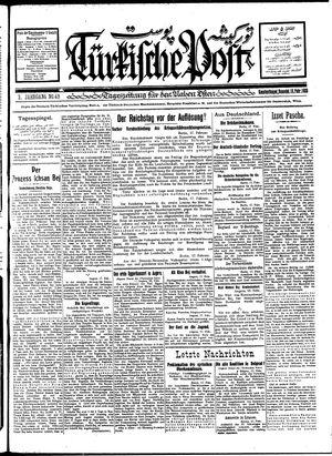 Türkische Post vom 18.02.1928
