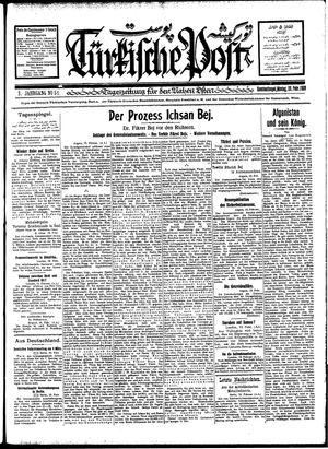 Türkische Post vom 20.02.1928
