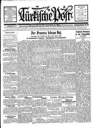 Türkische Post vom 21.02.1928
