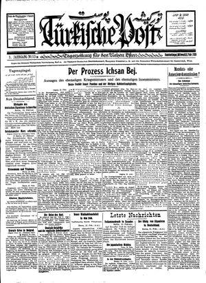 Türkische Post vom 22.02.1928
