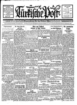 Türkische Post on Feb 25, 1928