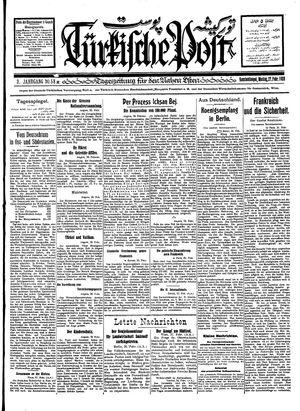 Türkische Post vom 27.02.1928