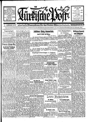 Türkische Post vom 29.02.1928