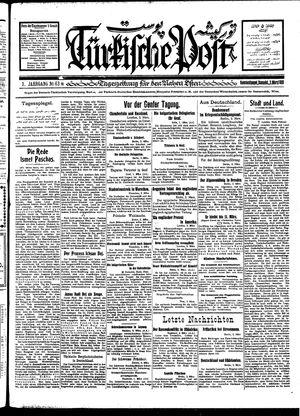 Türkische Post vom 03.03.1928
