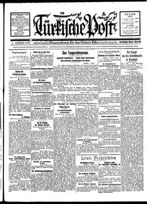 Türkische Post vom 05.03.1928