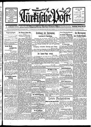 Türkische Post on Mar 6, 1928