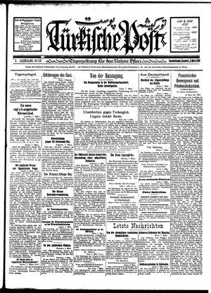 Türkische Post on Mar 8, 1928