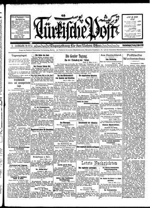 Türkische Post vom 09.03.1928