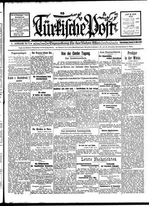 Türkische Post vom 10.03.1928