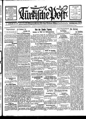 Türkische Post vom 11.03.1928