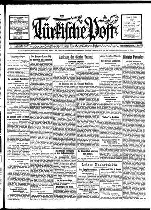Türkische Post vom 13.03.1928