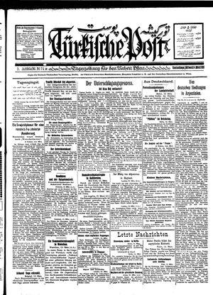 Türkische Post vom 14.03.1928