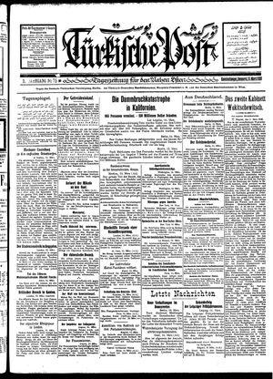 Türkische Post vom 15.03.1928