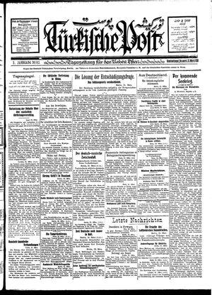 Türkische Post vom 22.03.1928