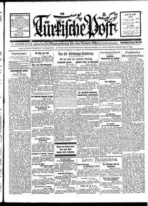 Türkische Post vom 23.03.1928