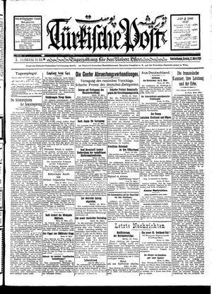 Türkische Post vom 25.03.1928