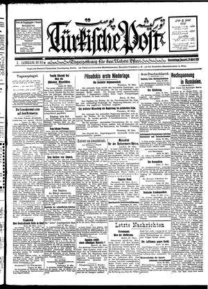 Türkische Post vom 29.03.1928