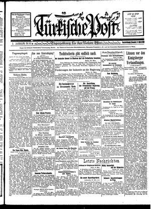 Türkische Post vom 31.03.1928