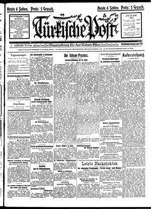 Türkische Post on Apr 8, 1928
