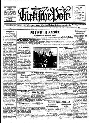 Türkische Post vom 14.04.1928