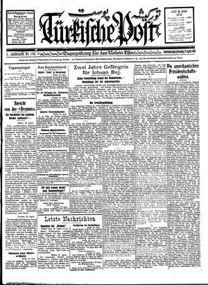 Türkische Post vom 17.04.1928
