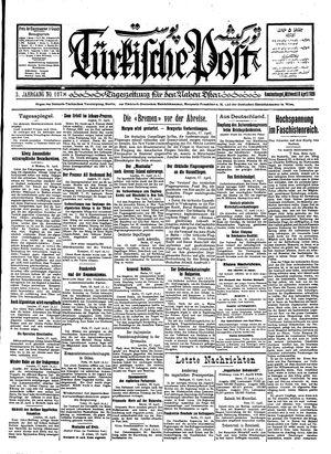 Türkische Post vom 18.04.1928