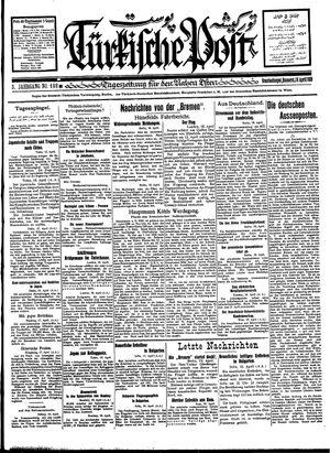 Türkische Post vom 19.04.1928