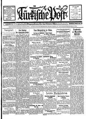 Türkische Post vom 22.04.1928