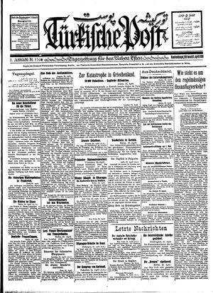 Türkische Post vom 25.04.1928