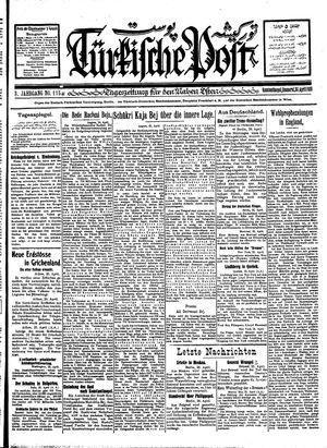 Türkische Post vom 26.04.1928
