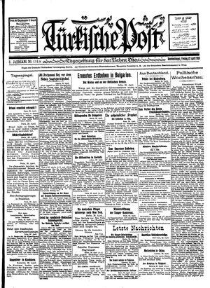 Türkische Post vom 27.04.1928