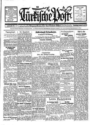 Türkische Post vom 28.04.1928