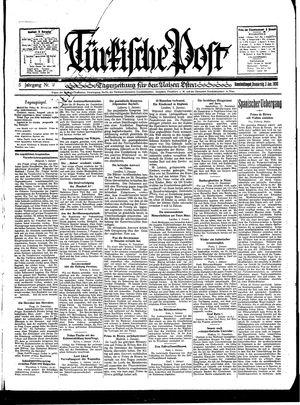 Türkische Post vom 02.01.1930