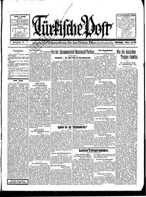 Türkische Post vom 03.01.1930