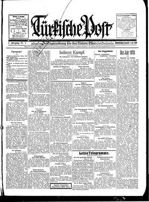 Türkische Post vom 04.01.1930