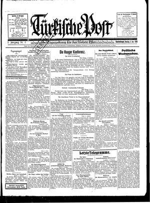 Türkische Post vom 05.01.1930
