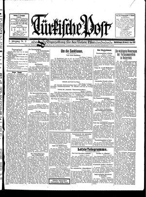 Türkische Post vom 08.01.1930