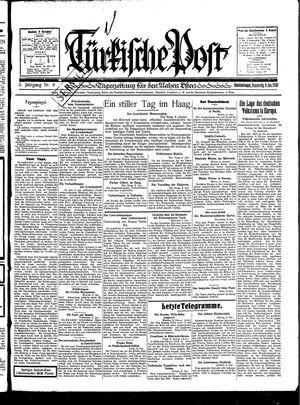 Türkische Post vom 09.01.1930