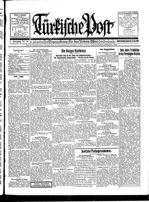 Türkische Post vom 16.01.1930