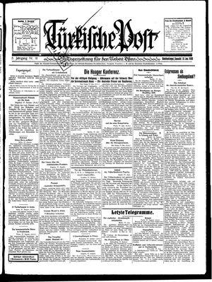 Türkische Post vom 18.01.1930