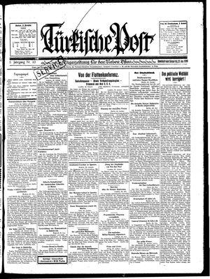 Türkische Post vom 23.01.1930