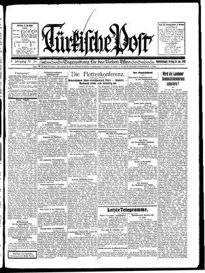 Türkische Post vom 24.01.1930