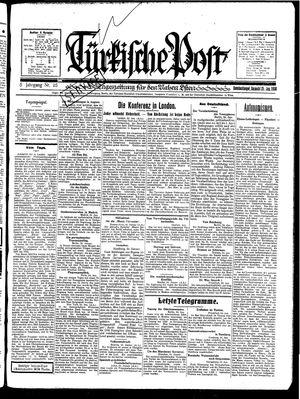 Türkische Post vom 25.01.1930