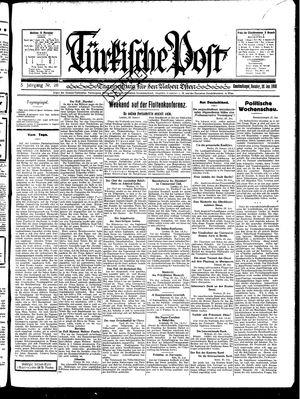 Türkische Post vom 26.01.1930
